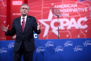 """Though he is not expected to officially announce his candidacy until June 15, Jeb Bush has raised millions for his """"non-campaign."""" Photo credit: Gage Skidmore / Wikimedia Foundation"""