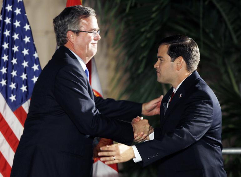 jeb-bush-and-marco-rubio