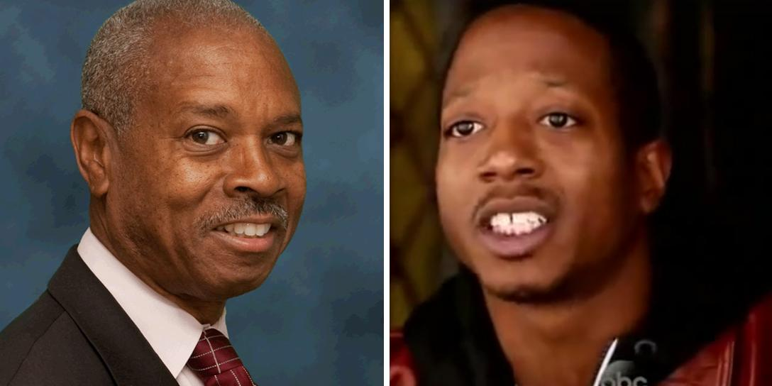 Left: Bronx D.A. Robert T. Johnson. Right: Kalief Browder. Photo credits: Bronx District Attorney's Office / The View (screen capture) / YouTube