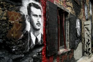 President Bashar al-Assad followed in his father's footsteps putting down rebel movements. Photo credit: Home of Chaos / Flickr