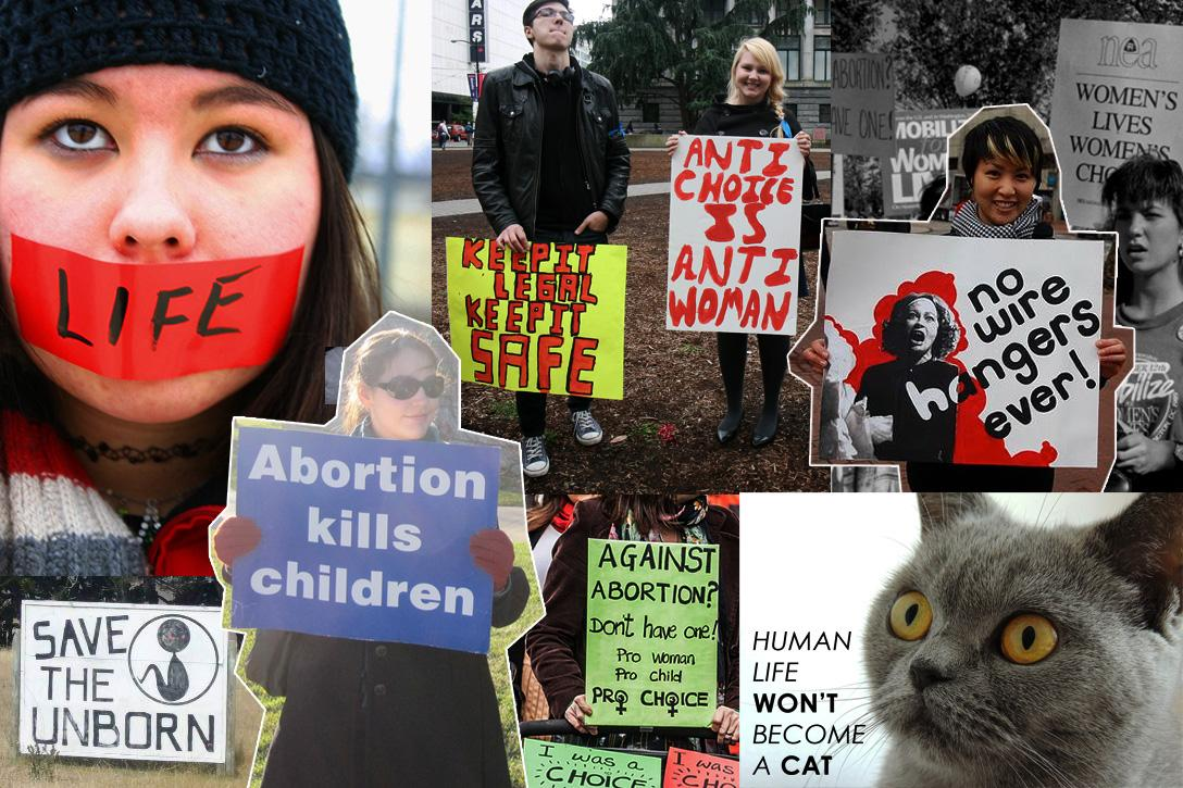 the failed rhetoric of the abortion debate