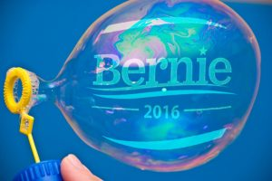 Bernie Sanders is blowing up, but is his bubble bound to burst?