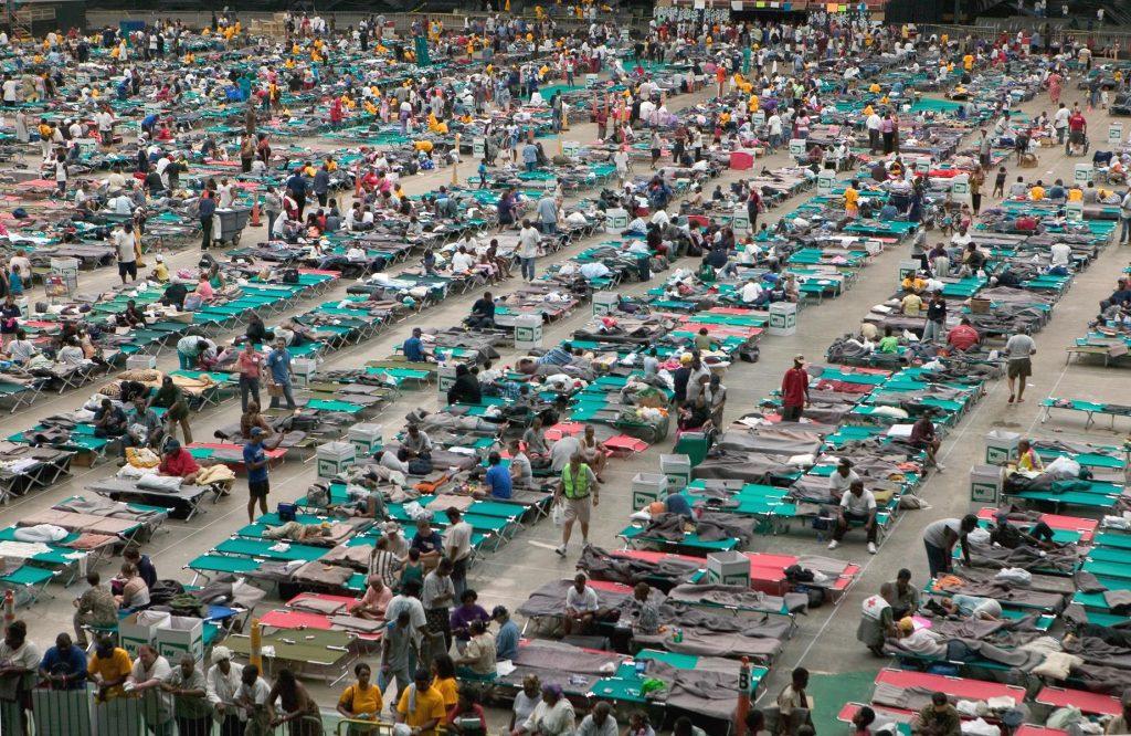 Hurricane Katrina, Astrodome