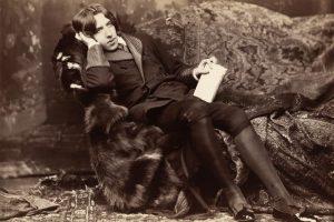 Oscar Wilde was born October 16, 1854 in Dublin, Ireland. About this photo: Oscar Wilde, photographic print on card mount: albumen. c1882 Photo Credit: Napoleon Sarony / Wikimedia / Library of Congress