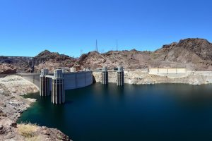 Paris Climate Change Conference will take place from November 30 to December 11, 2015, in Paris, France. About this photo: Hoover Dam. Hydroelectricity is getting less reliable due to global warming. And the world is doubling down on it. Photo Credit: Kuczora / Wikimedia (CC BY-SA 3.0)