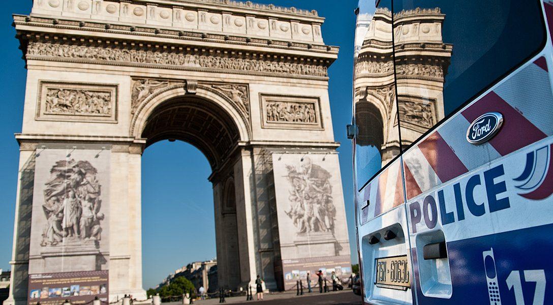 Arc de Triomphe, Paris Police