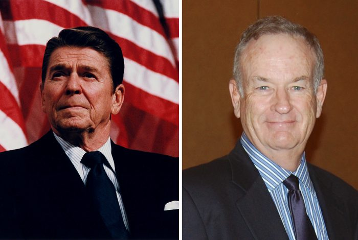 President Ronald Reagan, Bill O'Reilly