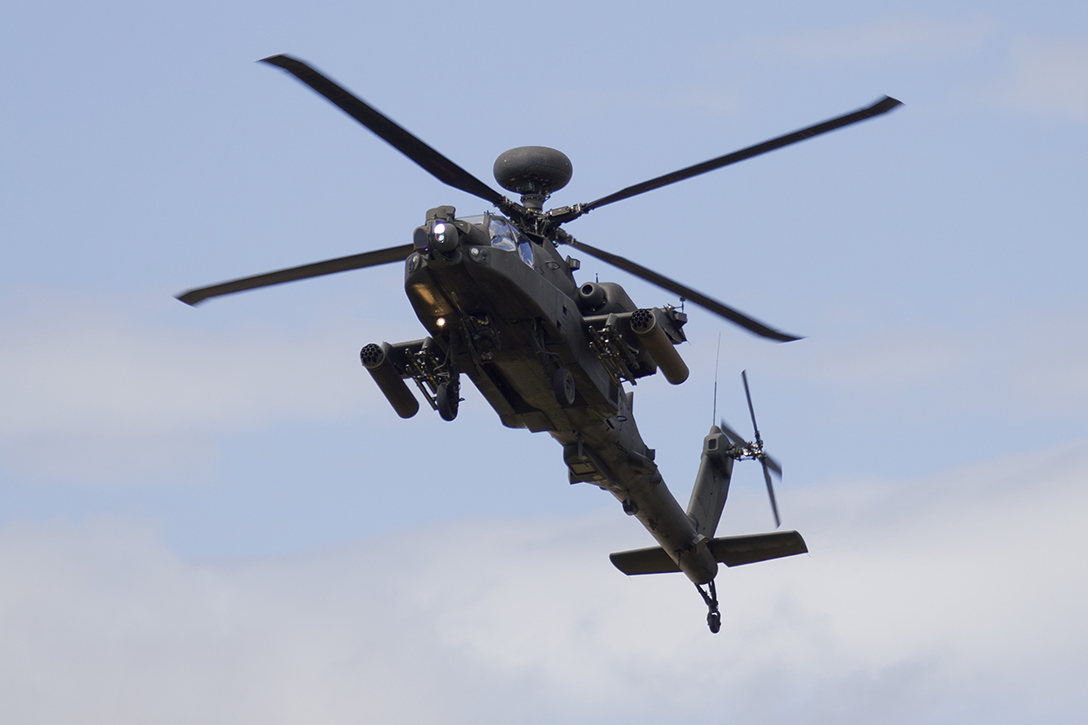 US Apache Helicopter