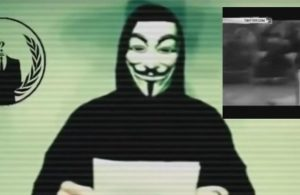Anonymous — Operation Paris #OpParis. Photo credit:  Anonymous Official / YouTube.