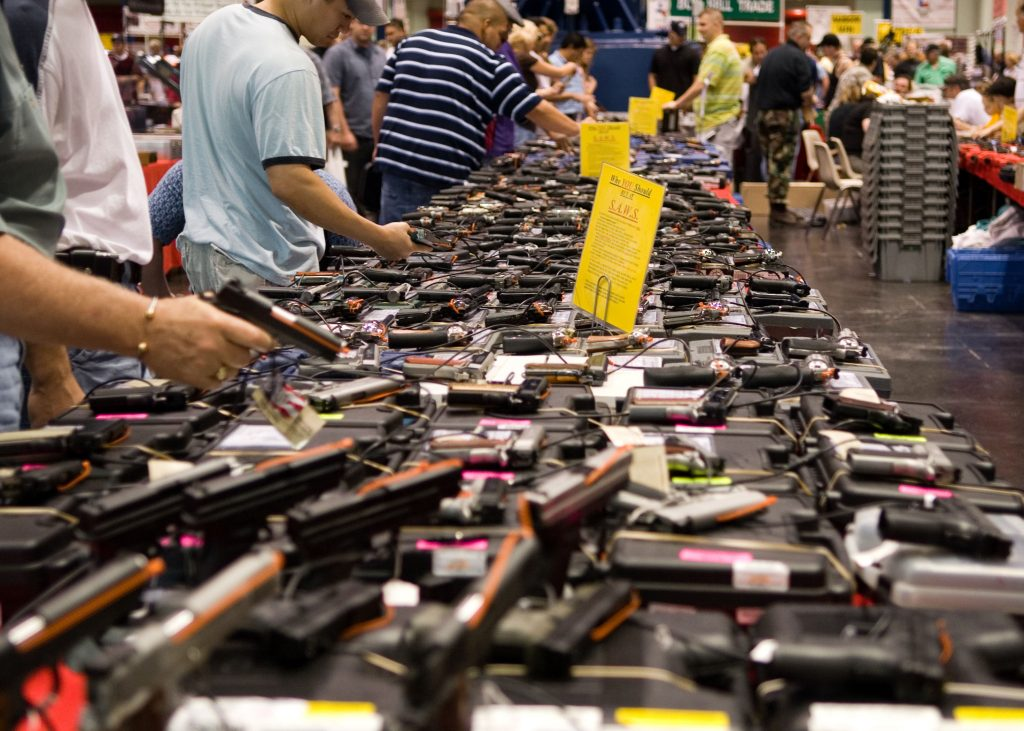 Houston Gun Show Photo credit: M&R Glasgow / Flickr (CC BY 2.0)