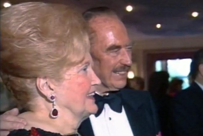 Mary Anne and Fred Trump