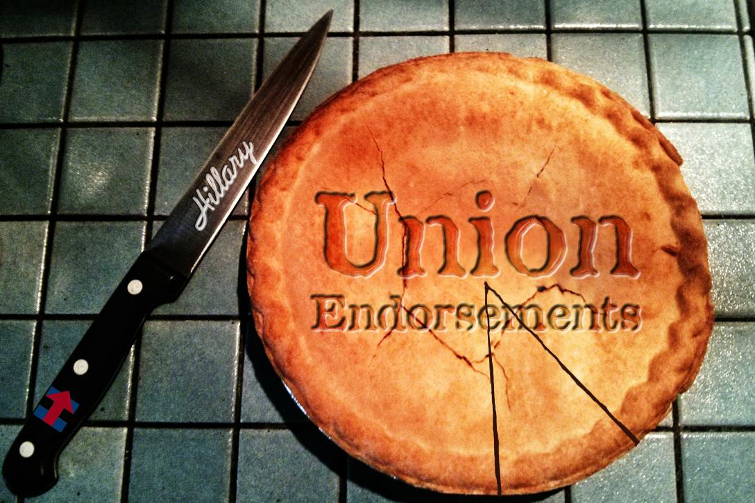 Democrats divide Union pie