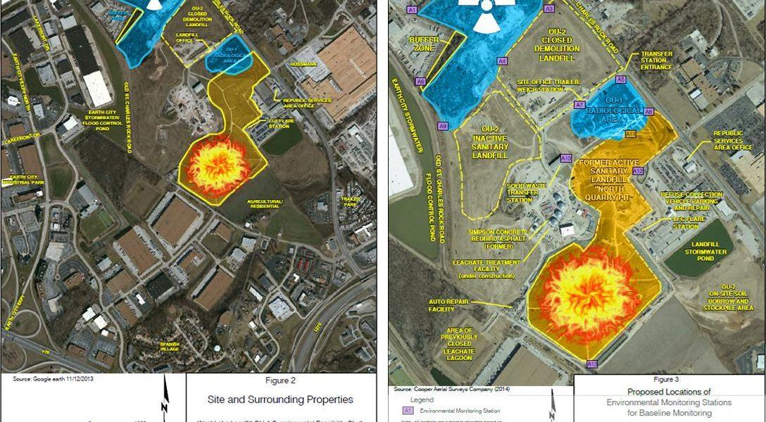 Bridgeton Landfill Maps