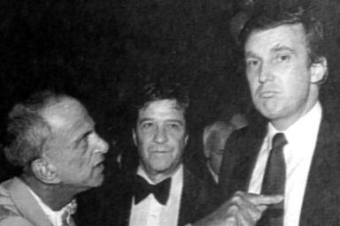 Donald Trump and Roy Cohn