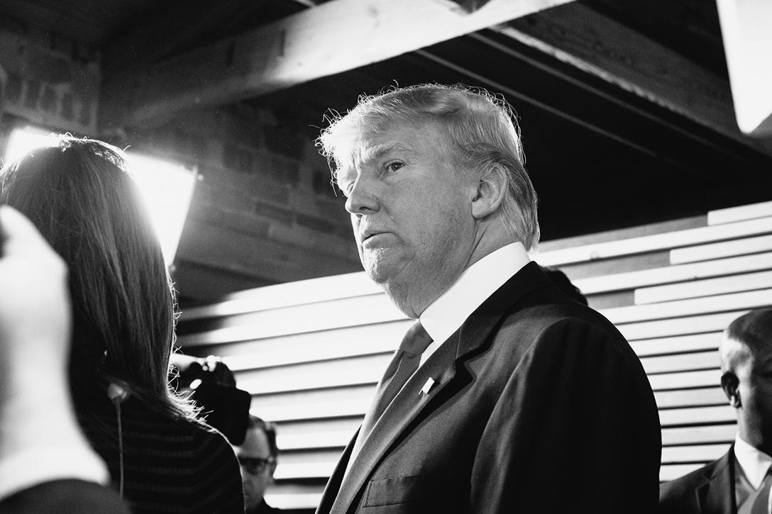 Donald Trump in Greenville South Carolina.
