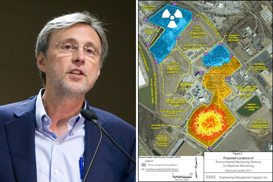 Thom Hartmann, Westlake Landfill