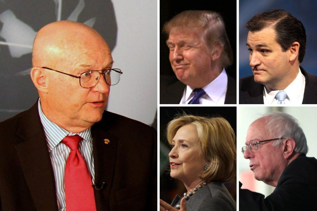 Lawrence Wilkerson, Donald Trump, Ted Cruz, Hillary Clinton, Bernie Sanders