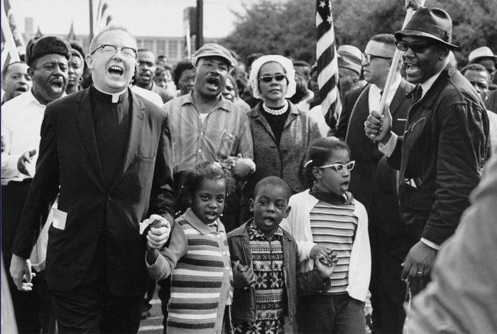 Dr Martin Luther King, Coretta Scott King, Dr Ralph David Abernathy, Juanita Abernathy