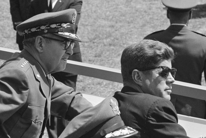 Curtis LeMay, JFK