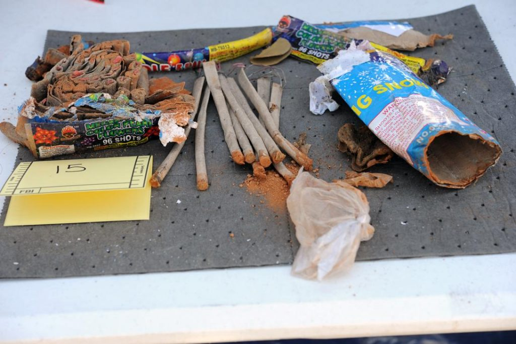 Fireworks found in Dzhokhar Tsarnaev's room
