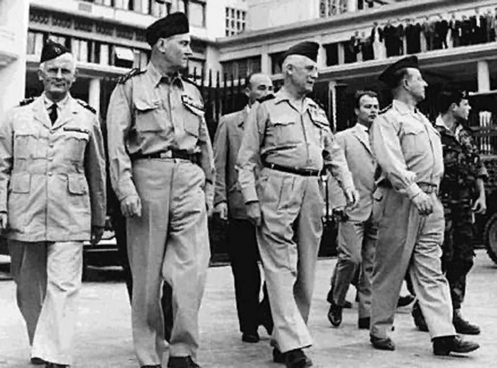 Four French Generals, Algiers Putsch