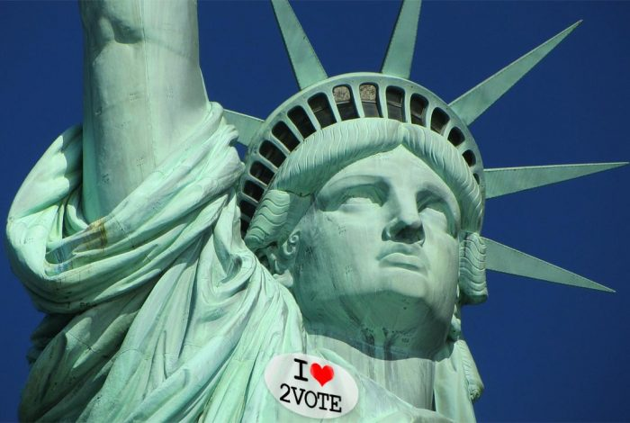 Statue of Liberty, Voting