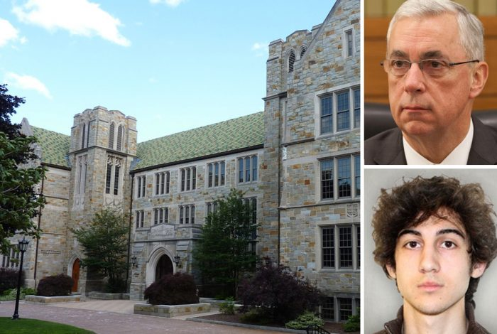 Judge O'Toole, Boston College, Dzhokhar Tsarnaev