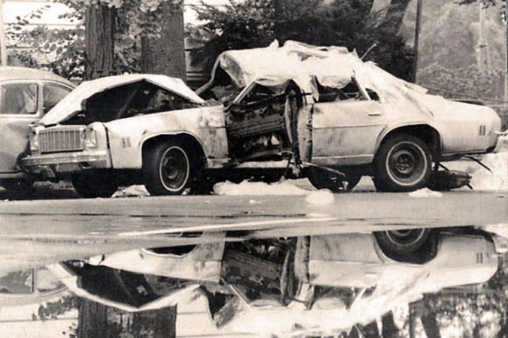 Orlando Letelier bombed car