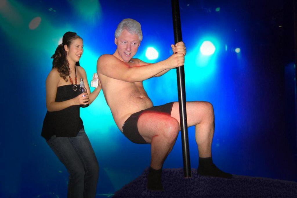 Bill Clinton, Poll Dancer