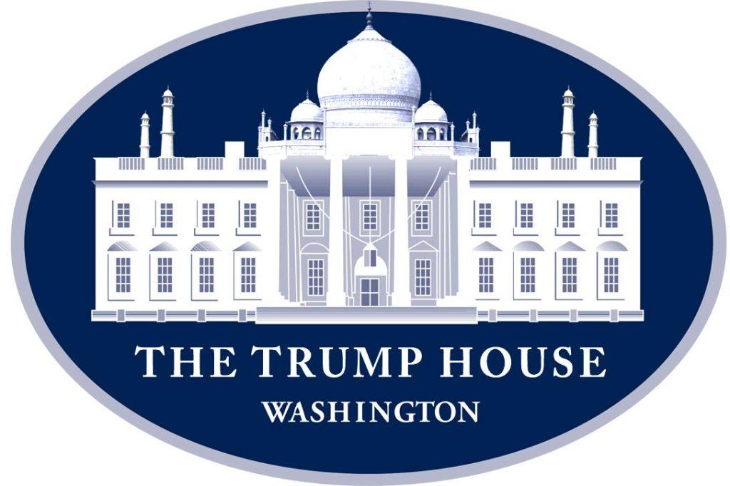 The White House Logo, Trump