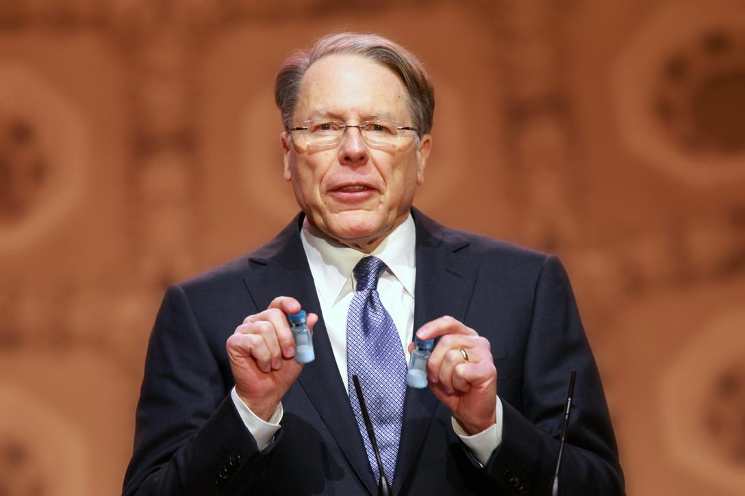 April Fools, Wayne LaPierre