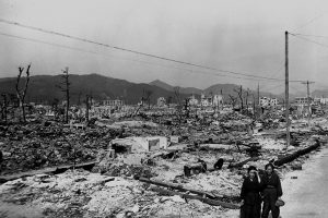 Hiroshima after atomic blast
