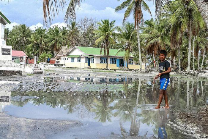Tuvalu flood