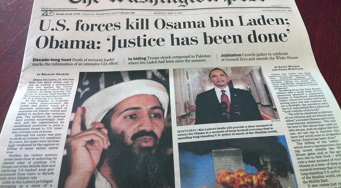 Washington Post, Osama bin Laden