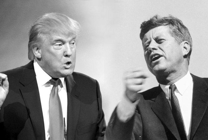Donald Trump, JFK