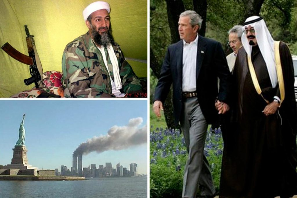 Osama bin Laden , George Bush, Abdulla, 9-11
