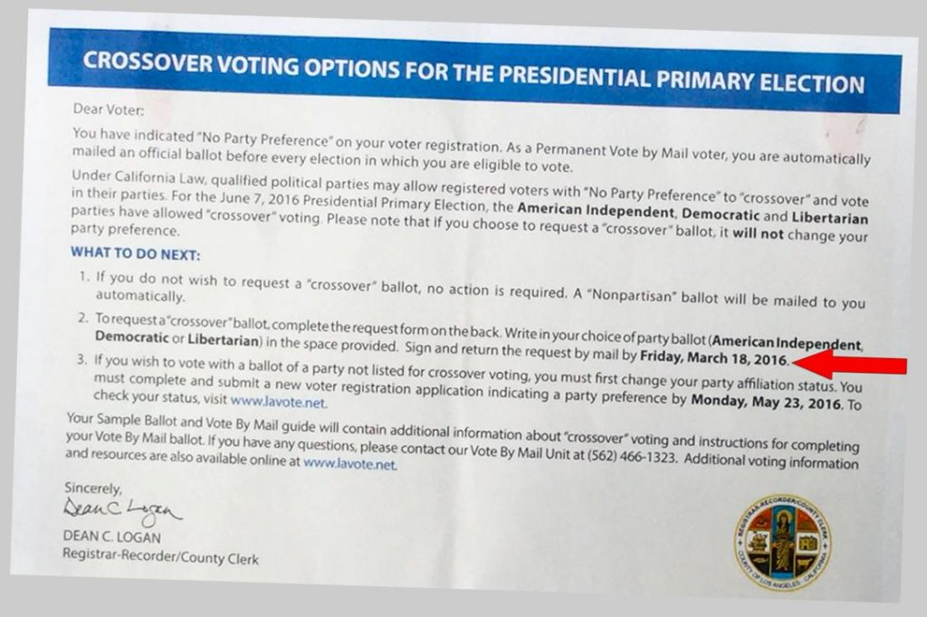 LA County Election Document