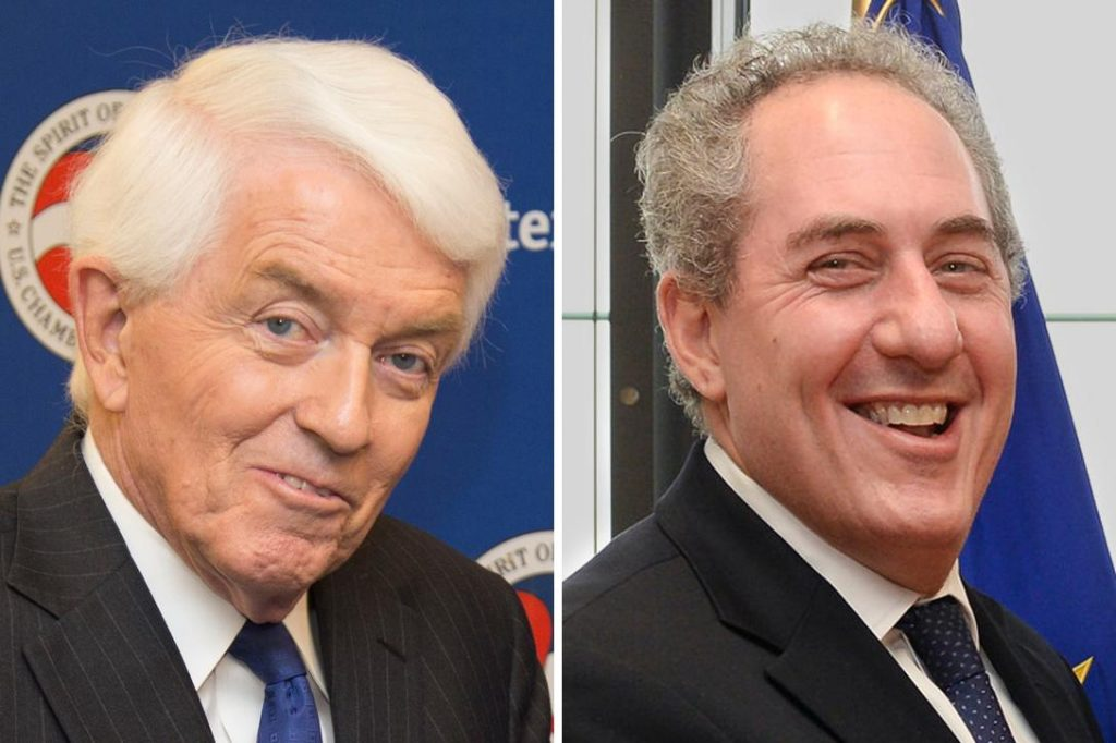 Tom Donohue, Michael Froman