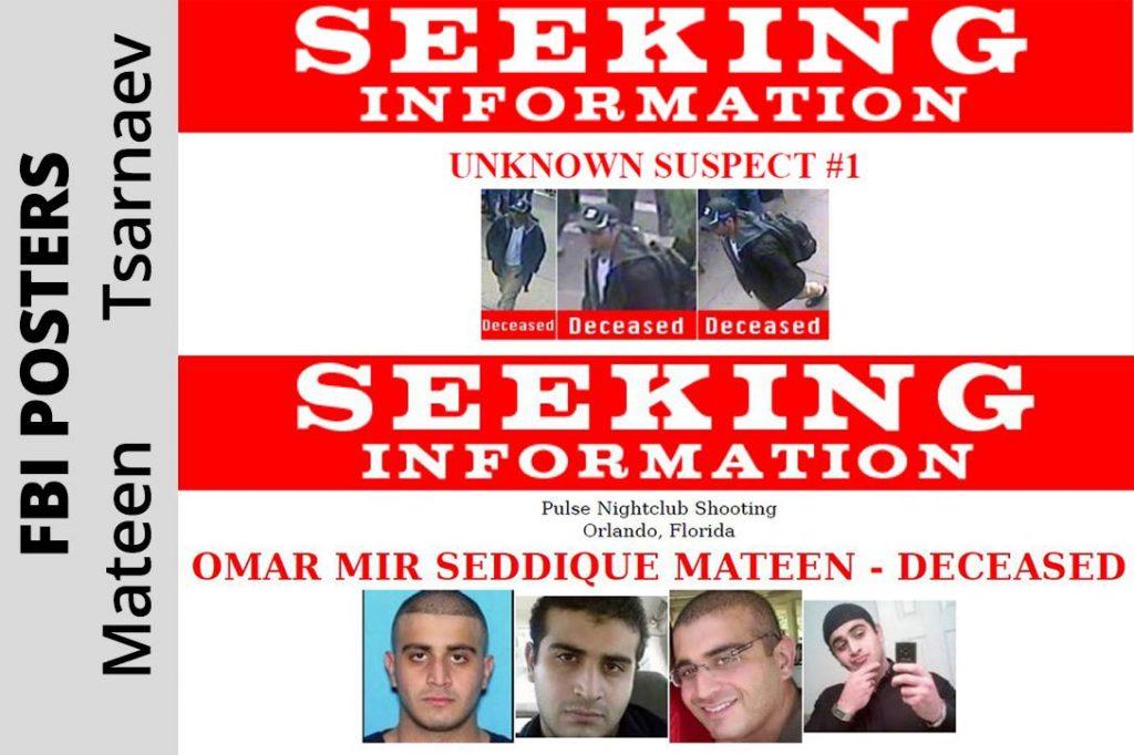 Tamerlan Tsarnaev, Omar Mateen