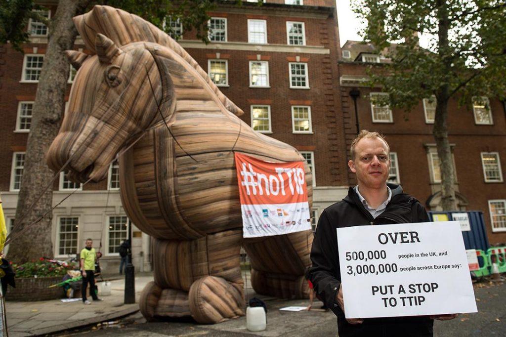 petition against TTIP