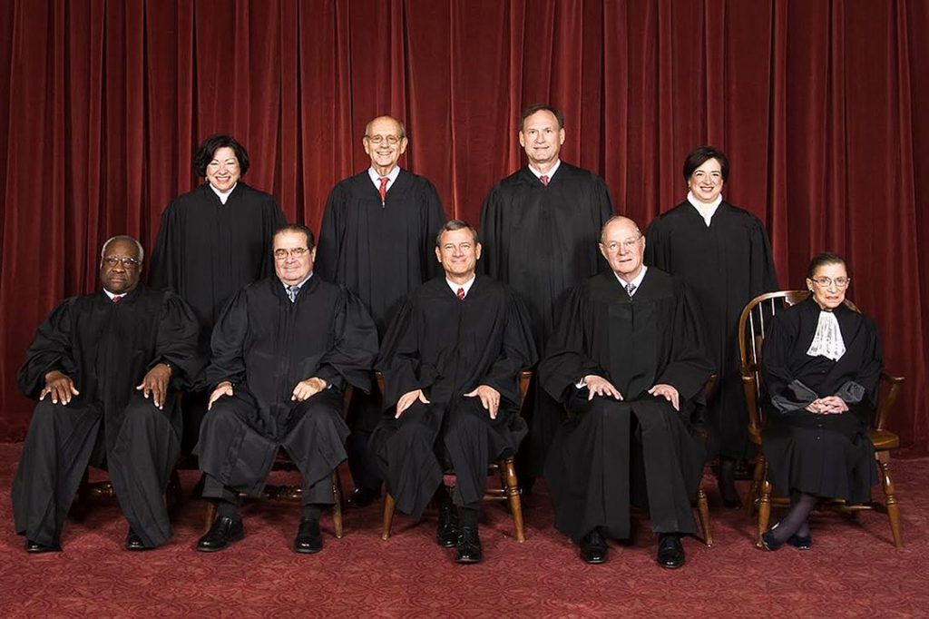 US Supreme Court, 2010 Photo credit: Supreme Court / Wikimedia