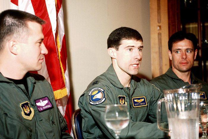 US Air Force Pilot Scott O'Grady