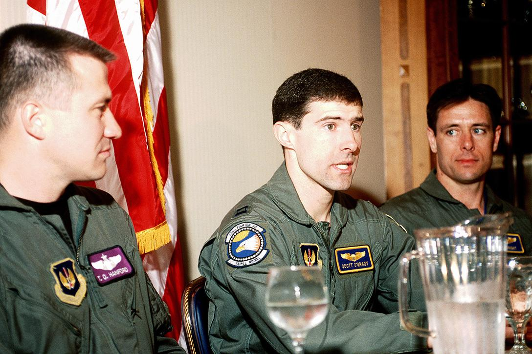 US Air Force Pilot Scott O'Grady