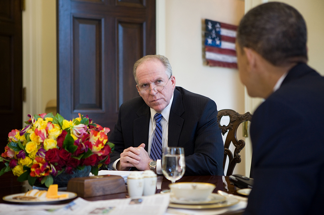 John Brennan with President Barack Obama
