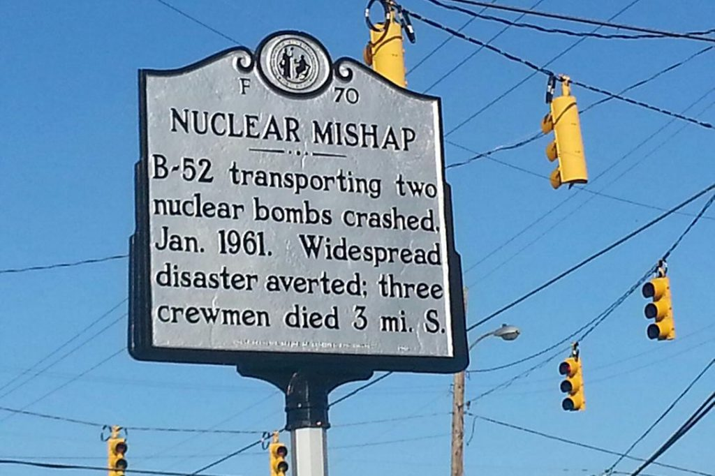 1961 B-52 crash marker