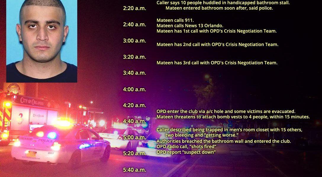 Omar Mateen, Pulse nightclub