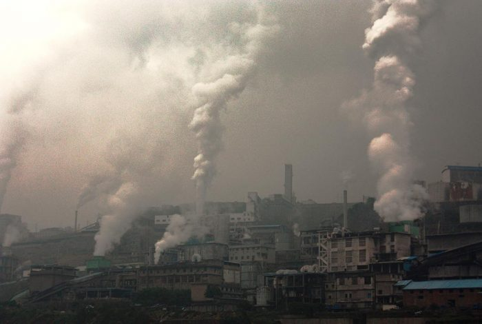 Air pollution in China