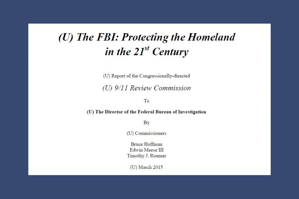 911 Review Commission Report