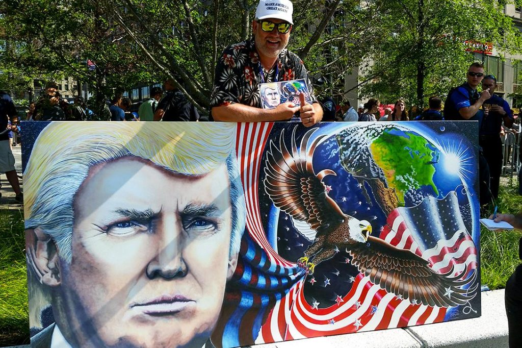 RNC, 2016, Trump, Art