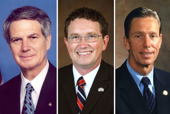 Walter Jones Thomas Massie and Stephen Lynch